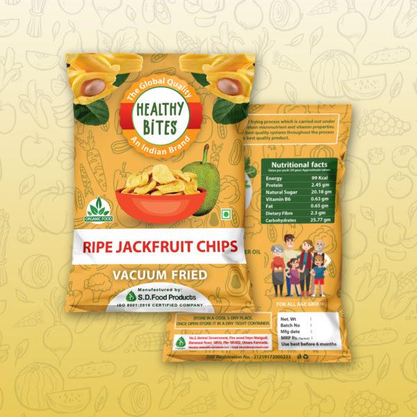 Vacuum fried Ripe Jackfruit chips